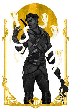 'Serpent Kiss' Poster by kickingshoes Dragon Age Games, Dragon Age 2, Dragon Age Origins, Dragon Age Inquisition, Larp, Dragon Age Dorian, Game Character, Character Design, Kiss Art
