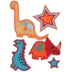 Ecussons Dinosaures