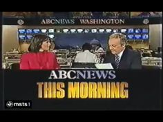 ABC News This Morning -1982 Classic Image, Abc News, Tv, Television Set, Television