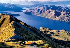 Lake Wanaka, New Zealand    Photographer: Colin Monteath/Hedgehog House from Outside Online, http://www.outsideonline.com/adventure-travel/australia-pacific/new-zealand/Best-New-Adventure-Hub.html