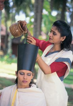 Hair Treatment - Image from Ministry of India