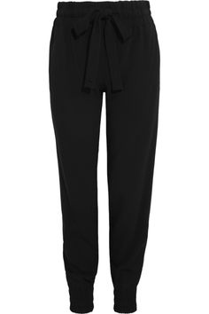 Gucci|Stretch-crepe tapered pants|NET-A-PORTER.COM