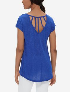 Loose Cutout Tee from THELIMITED.com