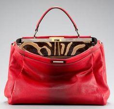 Love the Fendi Peek a Boo bag!