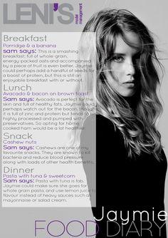 Leni's Model Management Model Food Diaries : JAYMIE Breakfast Porridge, Model Diet, Food Diary, Weight Loss Program, Just Do It, Vegan Gluten Free, Management, Diaries, Cocktails