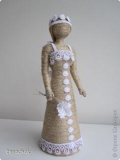 Куклы Моделирование конструирование Барышня на прогулке Шпагат фото 1