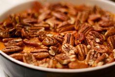 kitchen & aroma: mashed sweet potatoes w/ pecan nuts | Lisa Hjalt