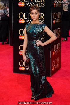 Cush Jumbo Olivier Awards 2014 held at the Royal Opera House http://www.icelebz.com/events/olivier_awards_2014_held_at_the_royal_opera_house/photo13.html