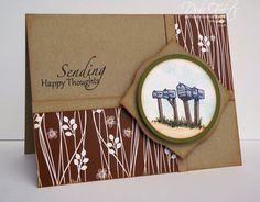 Sending Happy Thoughts by debdeb - Cards and Paper Crafts at Splitcoaststampers Scrapbook Cards, Scrapbooking, Happy Thoughts, Cardmaking, 3 D, Greeting Cards, Paper Crafts, Songs, Learning