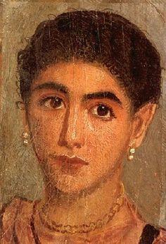 ♔ Les portraits du Fayoum ~ Egypte