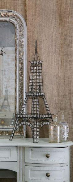 Everyone needs a model of the Eiffel Tower. This is amazing!!