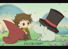 Little Snufkin and Moomin!