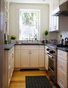 u shaped kitchen designs for small kitchens                                                                                                                                                      More