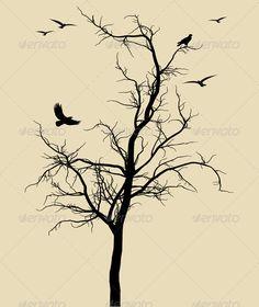 Dead Black Tree