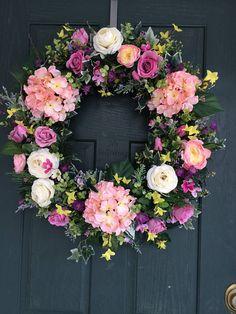 Spring wreath, Easter wreath, Wreath Easter, Wreath Spring, Everyday wreath, Wreath everyday, Spring door wreath, Wreath, Valentine wreath
