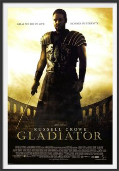 Gladiator 2000, Gladiator Movie, Gladiator Cast, Gladiator Arena, Oliver Reed, Kevin James, Theo James, Michelle Monaghan, Movie Posters