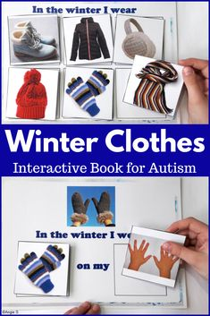This product was a great addition to my life skills and winter themes. The students love using the books over and over.  I also use some of the vocabulary cards to create a file folder matching activity.  Perfect! #winter #clothes