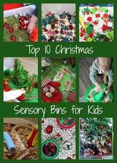 Top 10 Christmas Sensory Bins for Kids - Preschool Christmas Activities, Christmas Activities For Kids, Christmas Printables, Craft Activities, Preschool Crafts, Crafts For Kids, Christmas Family Feud, Christmas Crafts, Sensory Boxes