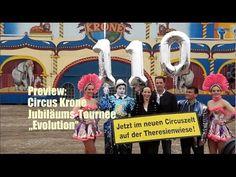 """Vorgestellt: Jubiläumstournee Evolution """"110 Jahre Circus Krone"""" Start @..."""