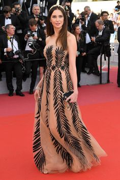 53cb6541825 The dreamiest dresses on the red carpet at Cannes Film Festival. Frederique  Bel. Wishful Thinking
