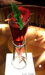 Golden Rose Cocktail 50 mlLanique - Rose Petal Liqueur 20 mlGabriel Boudier - Creme de Peches (Peach) 15 mlHibiscus and Cranberry Cordial 20 mlOcean Spray - Cranberry Juice Shake all ingredients and strain into a martini glass.