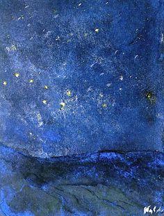 dreams-in-my-sky: Emil Nolde - Starry Sky
