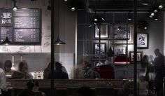 Costa Coffee by Stiff + Trevillion Architects, London
