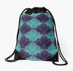 Fluo Jungle #redbubble #fluo #pattern by designdn