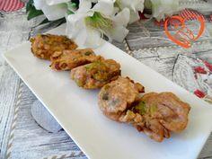 Frittelle di porri fritte http://www.cuocaperpassione.it/ricetta/b8371f4c-9f72-6375-b10c-ff0000780917/Frittelle_di_porri_fritte