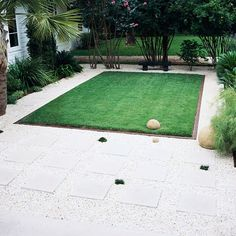 Contrasting Square Pavers