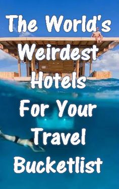 Some of these hotels are incredible! Put them on your travel bucketlist :-)