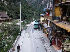 Peru Machu Picchu bus shuttle