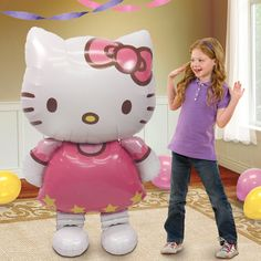 hello kitty walker! great for parties