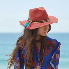 3e1d285b0cf Bring a little adventure to your next beach day with the Cheyenne hat from  Scala.