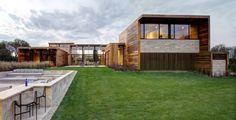 Habitações Moderno por Bates Masi Architects