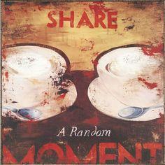 "Paragon Share A Random Moment by White Culinary Art - 38"" x 38"" - 7580"