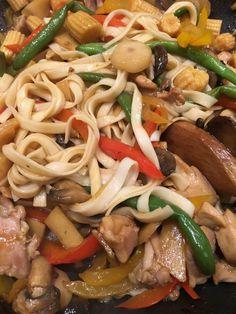 Chicken and Veggie Lo Mein