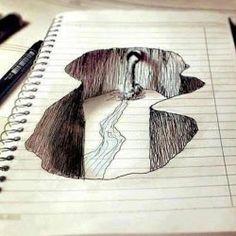 pretty cool pen doodle