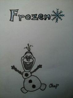 Frozen-Snowman Olaf  Complete foto.