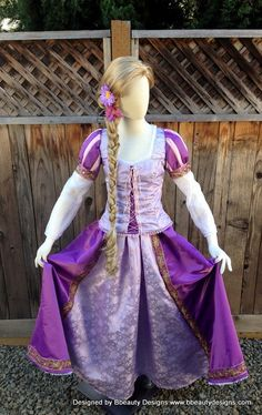 Rapunzel Tangled Romantic Version Adult Custom by BbeautyDesigns