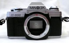 Konica Minolta X-300 X300 35mm SLR Film Camera Body SR MD Lens Mount