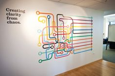 Great design by Jeff Jarvis for Gagen MacDonald. A similar look could be achieved using a product from our Tacky or Avery range. Visit our website for more information http://www.kwdoggett.com.au/products/wide-format/ #wideformatprint #australia #wallgraphics