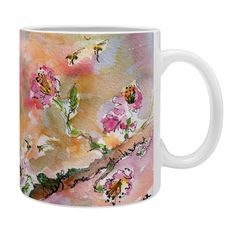 Ginette Fine Art Poetry des Fleurs Coffee Mug | DENY Designs Home Accessories @DENYDesigns #Home #Accessories #Ginette Fine Art #Poetry des #Fleurs