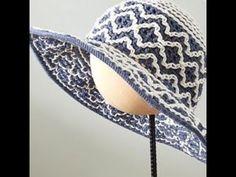 Crochet Baby, Crochet Top, Baby Sweaters, Tulum, Cowboy Hats, Beanies, Pattern, Youtube, Fashion