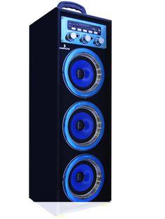 Altavoz Portátil Karaoke Inalámbrico Bluetooth Radio FM USB y Batería Interna modelo 88208 - Altavoz Portátil Karaoke Inalámbrico Bluetooth Radio FM USB y Batería Interna podrás escuchar toda tu música sin necesidad de cablesademás de todas las emisoras de la Radio FM para que no te pierdas tus programas favoritos. compatible con tarjetasSD y memorias USB, reproduce tu música o la de t... - http://www.vamav.es/producto/altavoz-portatil-karaoke-inalambrico-blueto