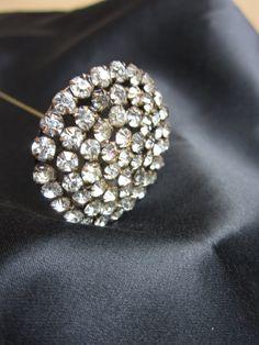 ANTIQUE Victorian Rhinestone Hat Pin