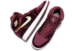 7094a22111a091 SHOP  Nike Air Jordan 1 Retro High Premium Heiress Red Velvet