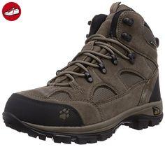 Jack Wolfskin Damen Impulse Texapore O2+ Mid W Trekking-& Wanderstiefel, Grau (Tarmac Grey), 43 EU