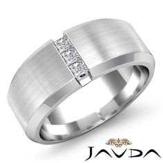 {Bold Bands} Unique Mens Wedding Rings