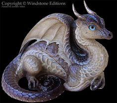 Labradorite Lap Dragon - Windstone Editions